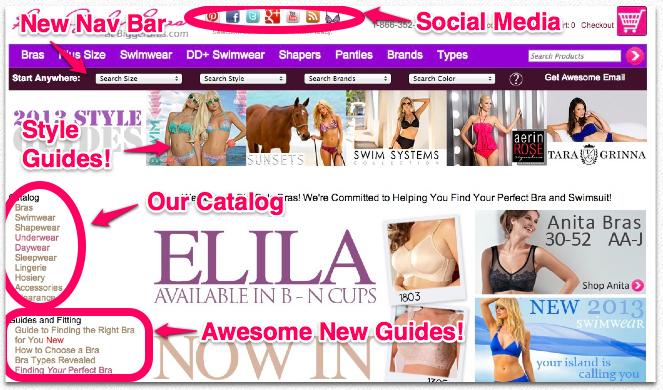Big Girls Bras Home Page Updates