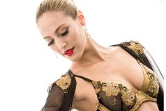 Ultraluxe lingerie made with gold