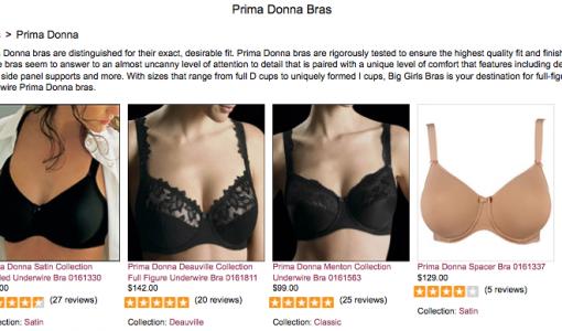 Prima Donna bras