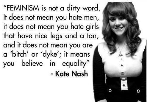 feminism quote kate nash