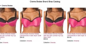 Creme Bralee Brand Bras