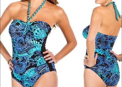 Miraclesuit Bonita Halter Swimsuit