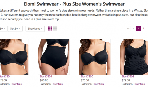 Elomi Swimwear at Big Girls Bras