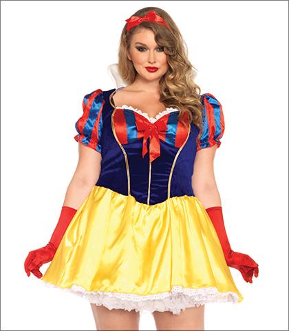 Sexy big girl costumes